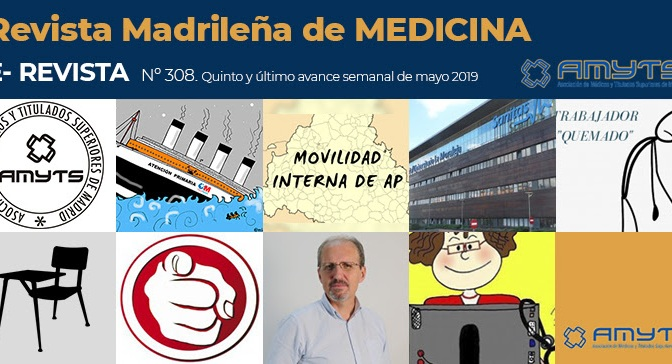 Ya está disponible la nueva e-revista de @AMYTSMEDICOS, el imprescindible de cada domingo